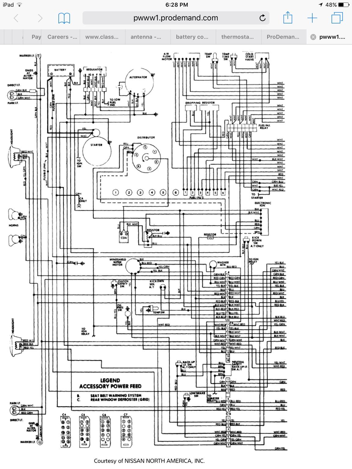 [DIAGRAM] 1978 280z Fuse Block Diagram FULL Version HD