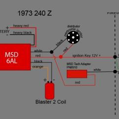 Msd 6al Wiring Diagram 2004 Nissan Xterra Speaker Crane Hi-6s + Pertronix Tach Adapter? - Electrical The Classic Zcar Club