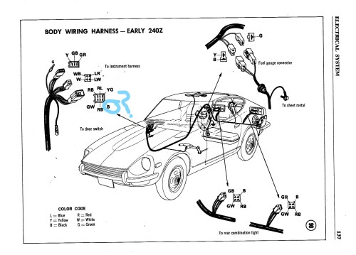 small resolution of series 1 240z reverse light complications electrical the classic 240z wiring diagram backup light switch