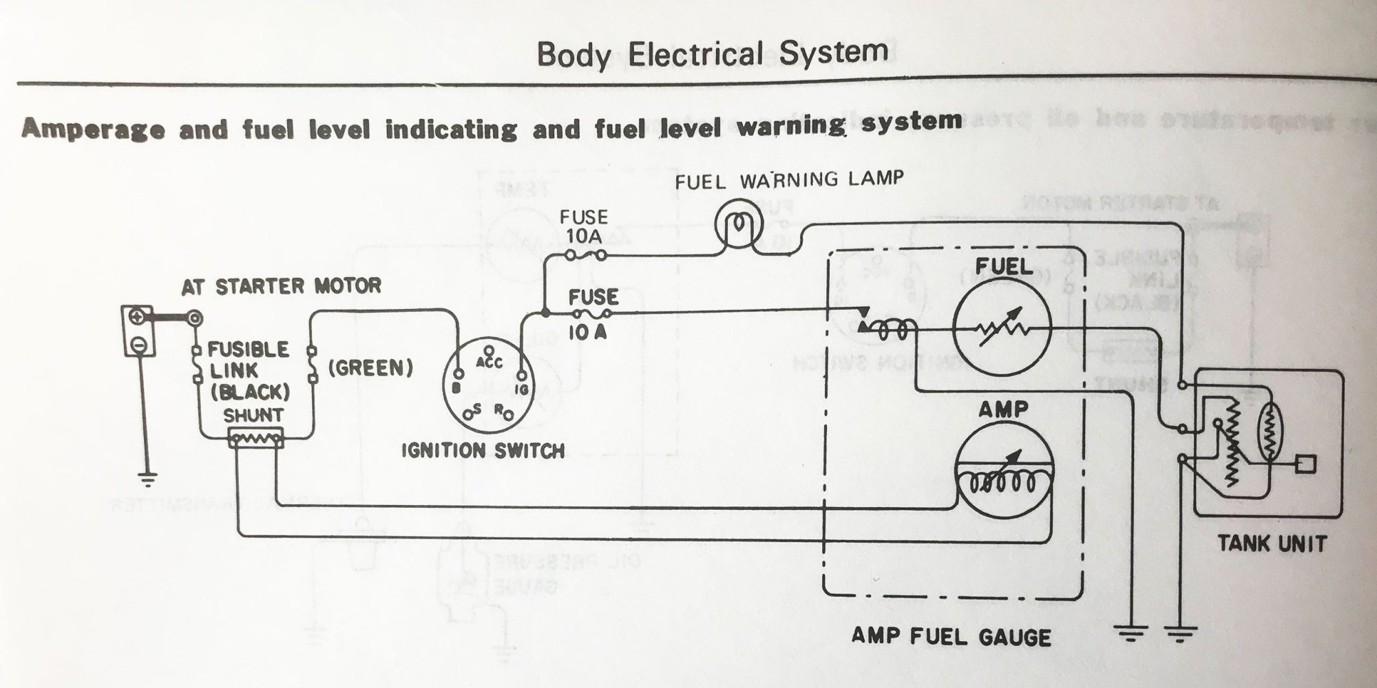 hight resolution of here is 77 280z voltmeter schematic