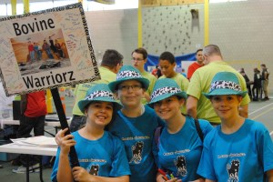 The Bovine Warriorz FLL Team