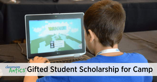 Gifted Student Scholarship for Camp