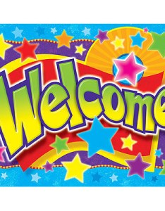 School posters welcome stars design also free delivery rh classroomcapers