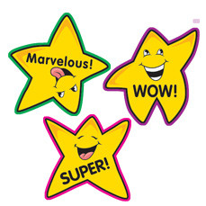 teacher stickers 100 fun shape