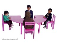 Pre School Kids Table & Chairs, Classroom Desk