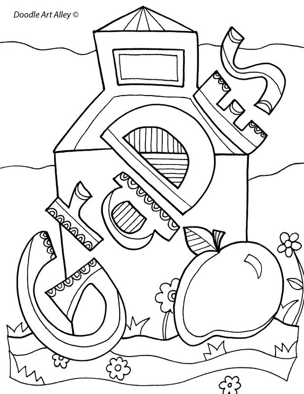 Homework Folder Coloring Page Coloring Coloring Pages