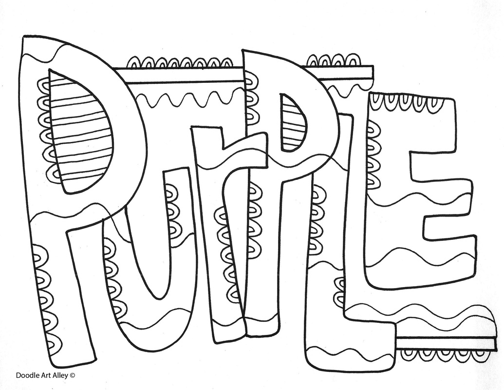 Colors Coloring Pages