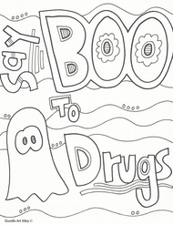 drug free coloring pages # 2