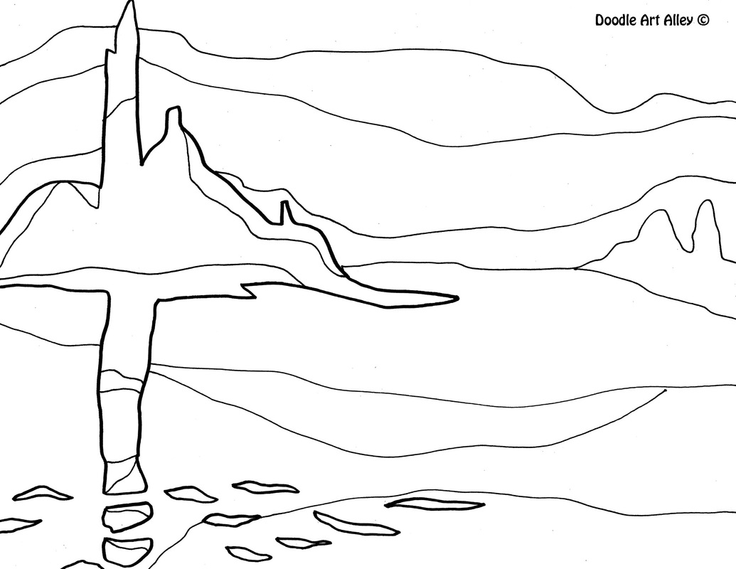 Claude Monet Coloring Sheets Sketch Coloring Page