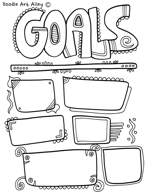Printable Worksheets » Goal Setting Worksheets For Kids