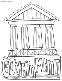 Humanities & Social Studies Coloring Pages & Printables