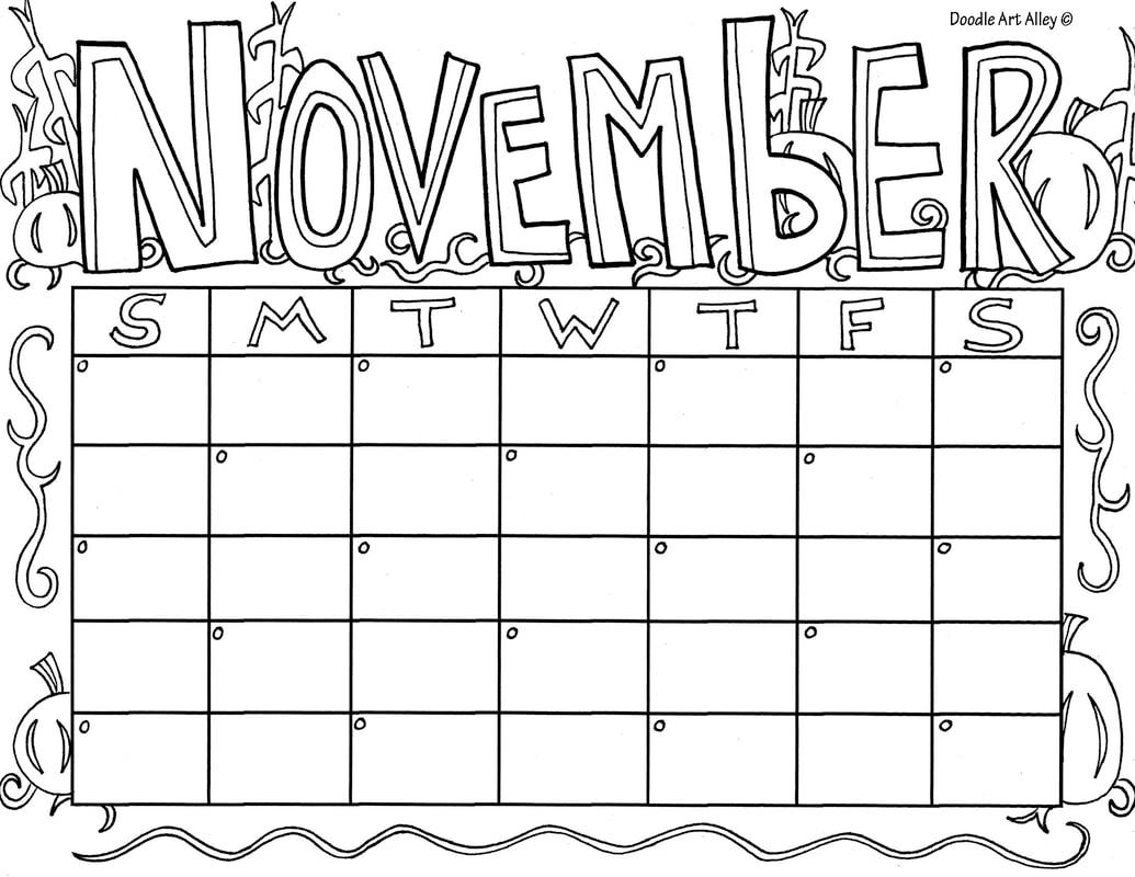 November Classroom Doodles