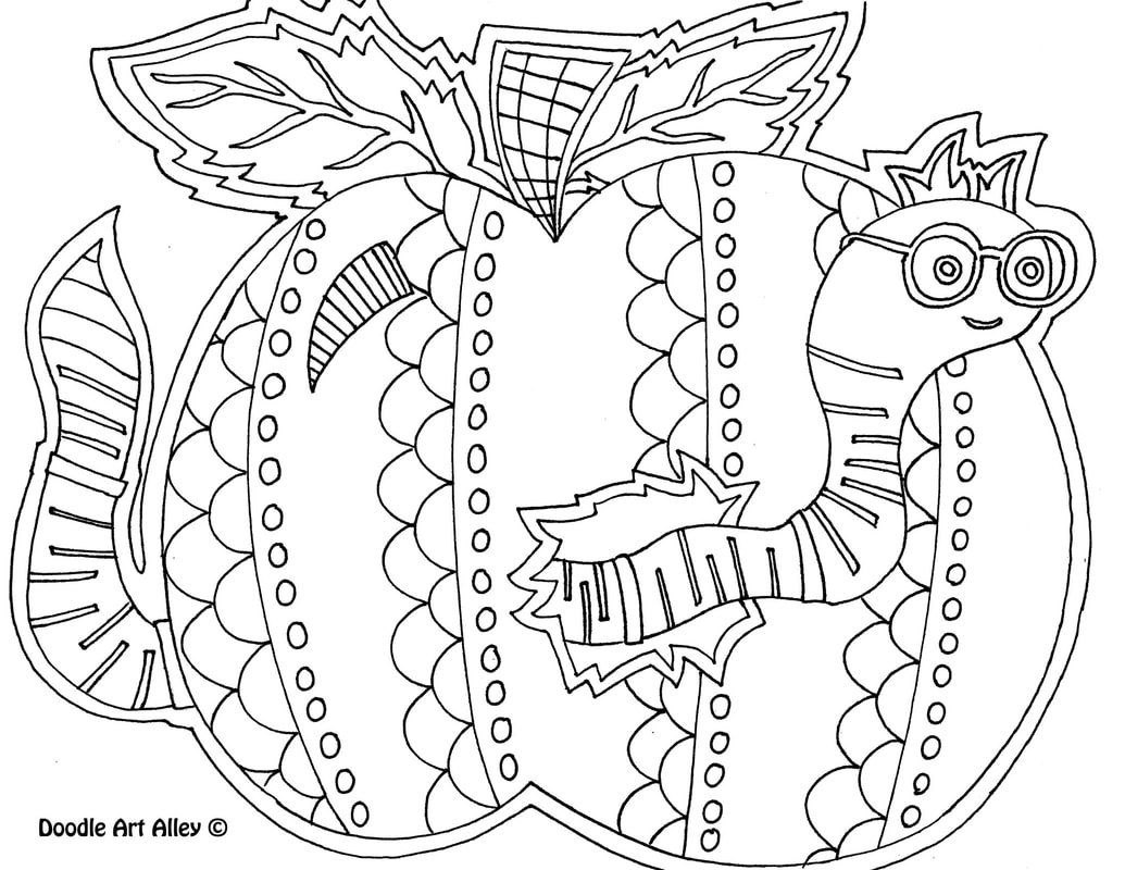 hight resolution of Back to School Coloring Pages \u0026 Printables - Classroom Doodles