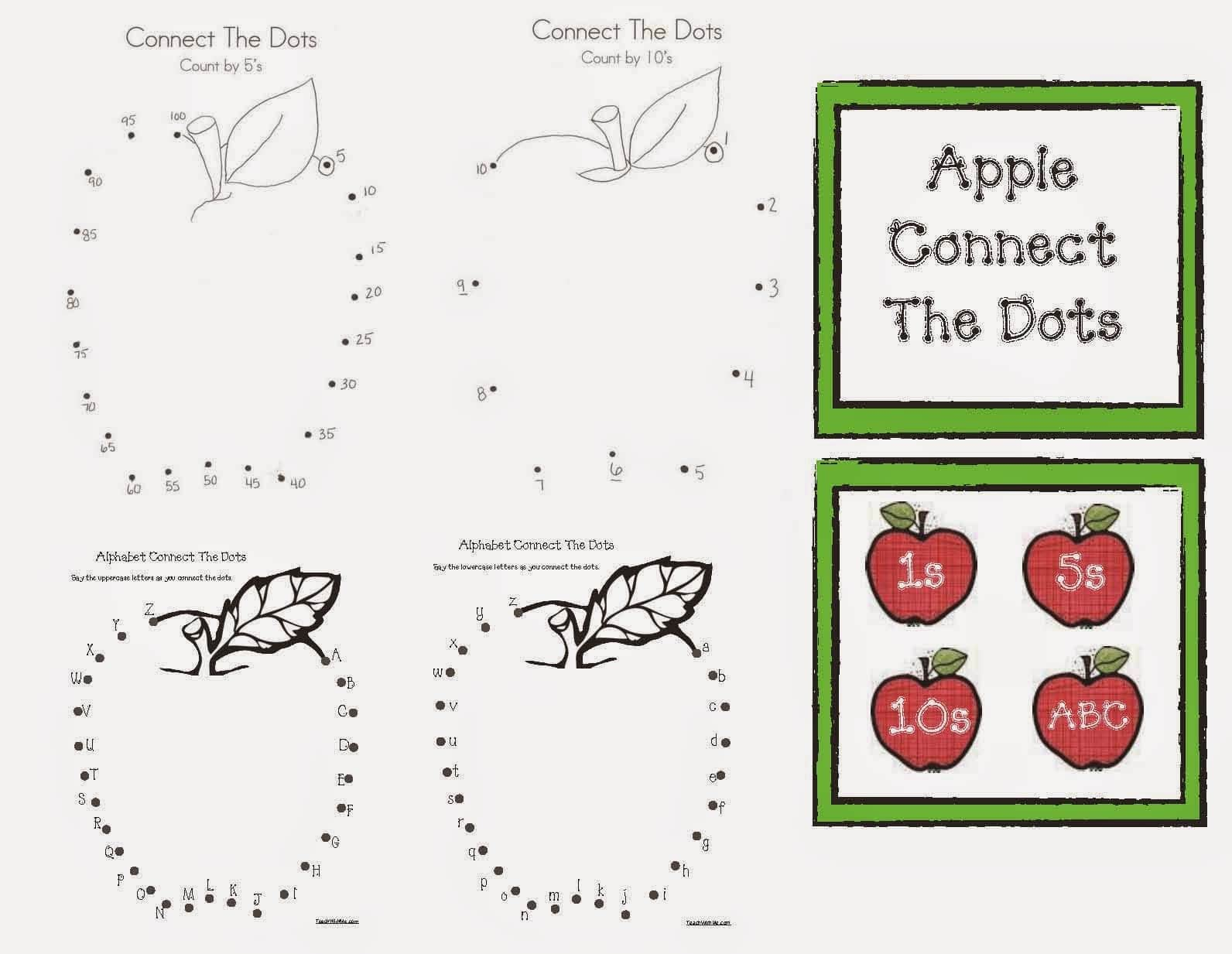 Connect The Dot Apples
