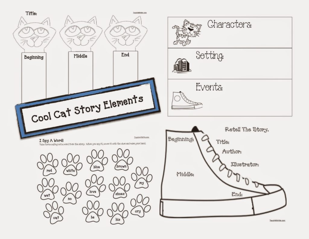 Cat Themed Story Elements