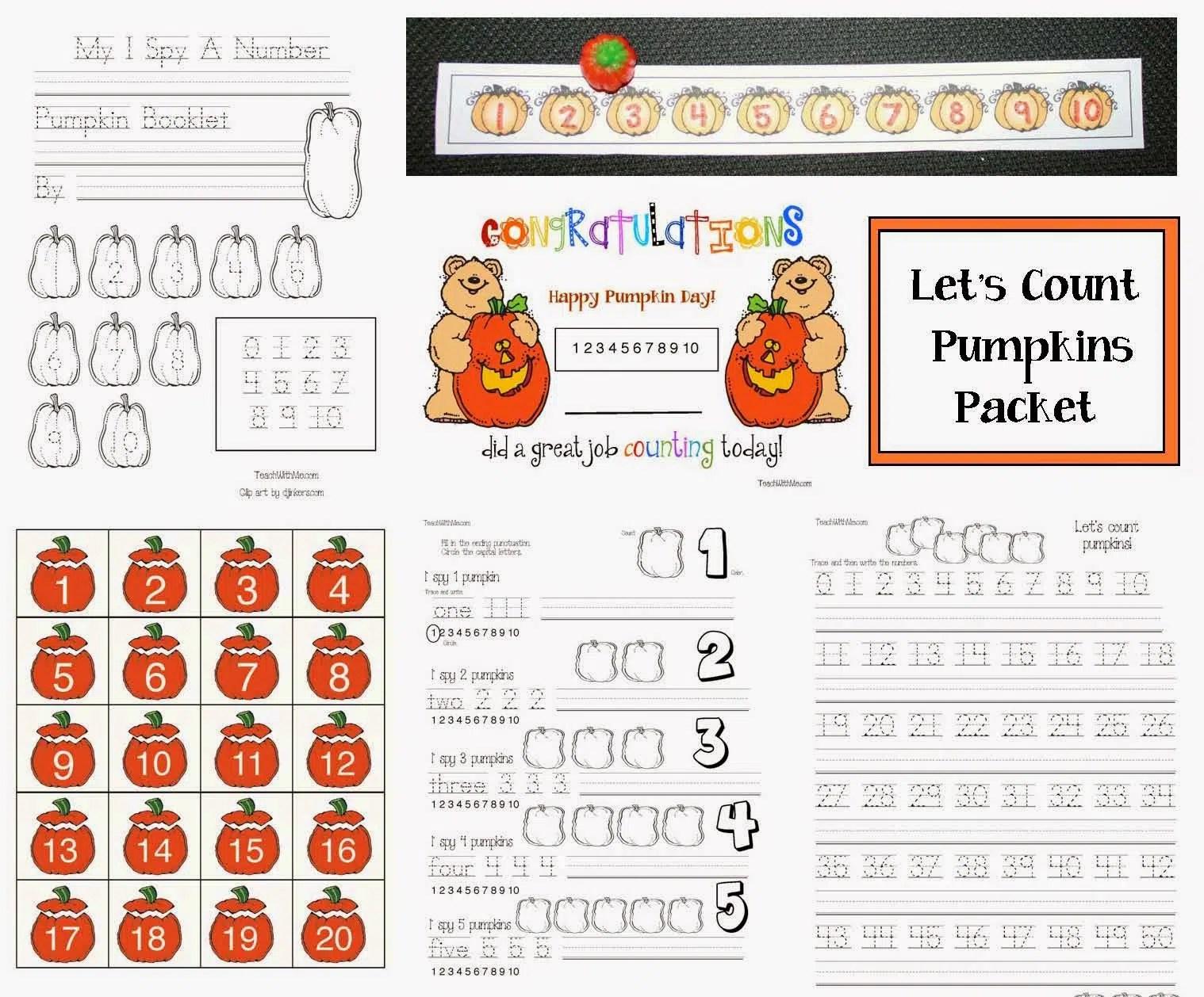 Let S Count Pumpkins