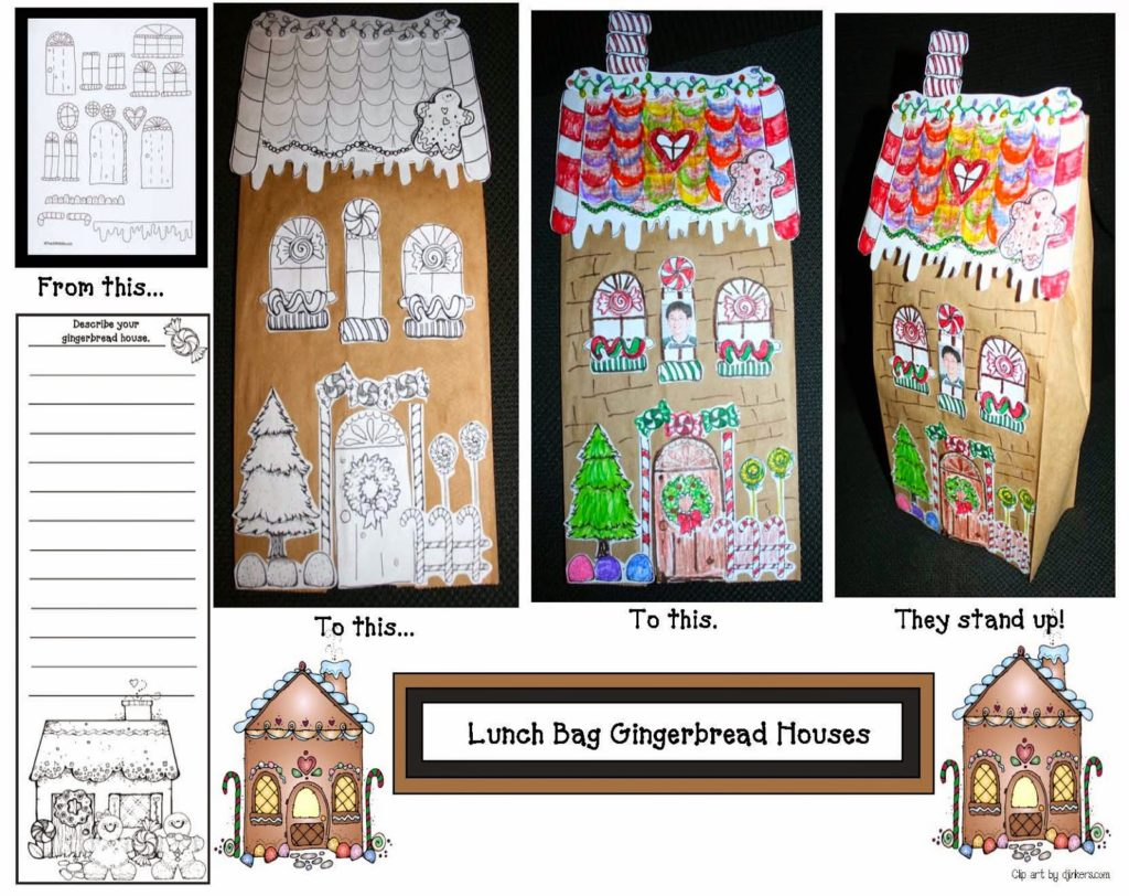 Let S Make A Gingerbread House