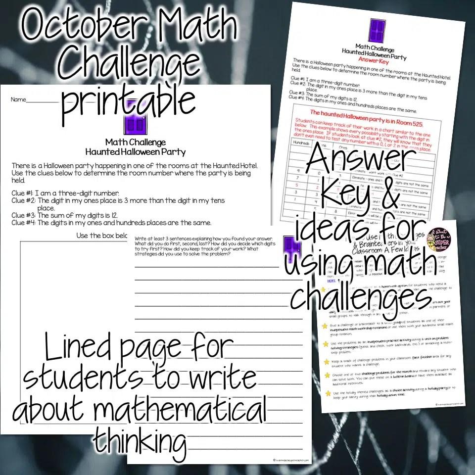 medium resolution of FREE Halloween Math Activity 2-3 - Classroom Freebies