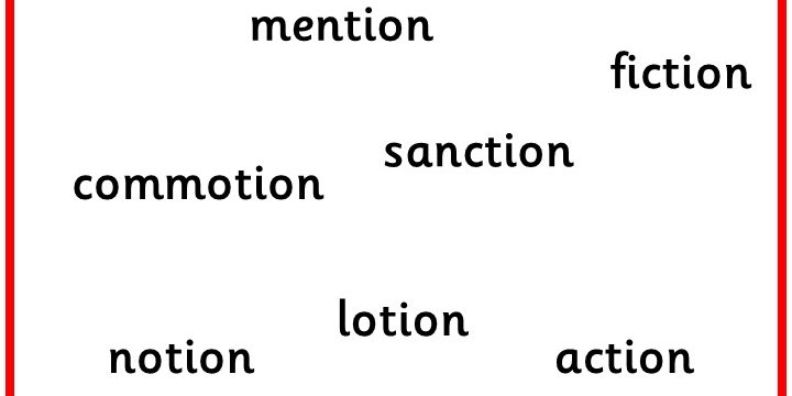 Finding Tion In Text