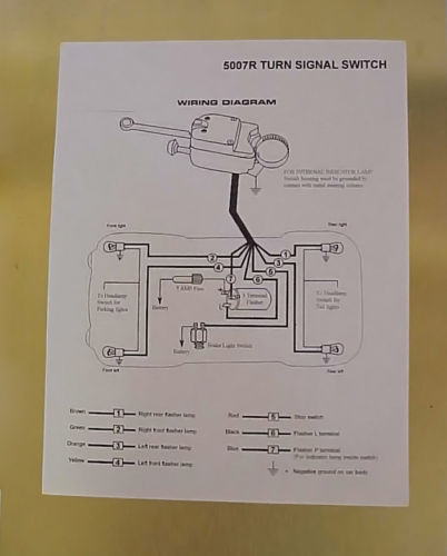 Turn Signal Wiring Diagram Besides Ford Turn Signal Wiring Diagram
