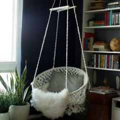 Hanging Chair Urban Outfitters Old Wooden High Parts Diy Macrame Marrakech 2