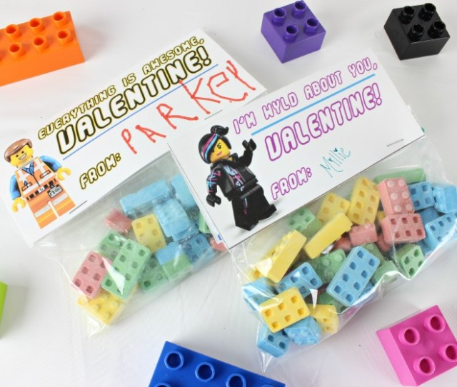 Lego Movie Valentines Www Classyclutter Net_