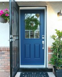 Door Paint & Black Front Door | DIY Beautify Uses Modern ...