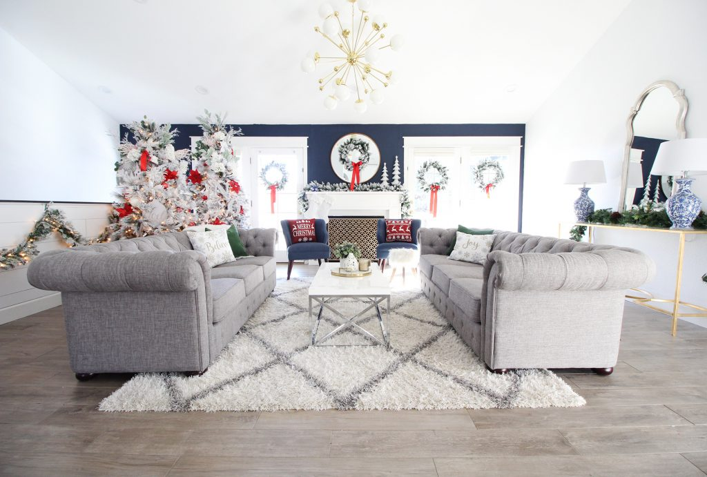ideas for decorating my living room christmas paint colors feng shui your home the holidays holiday decor classy clutter thank you guys all of incredibly sweet comments on reveal when pour heart and into a space