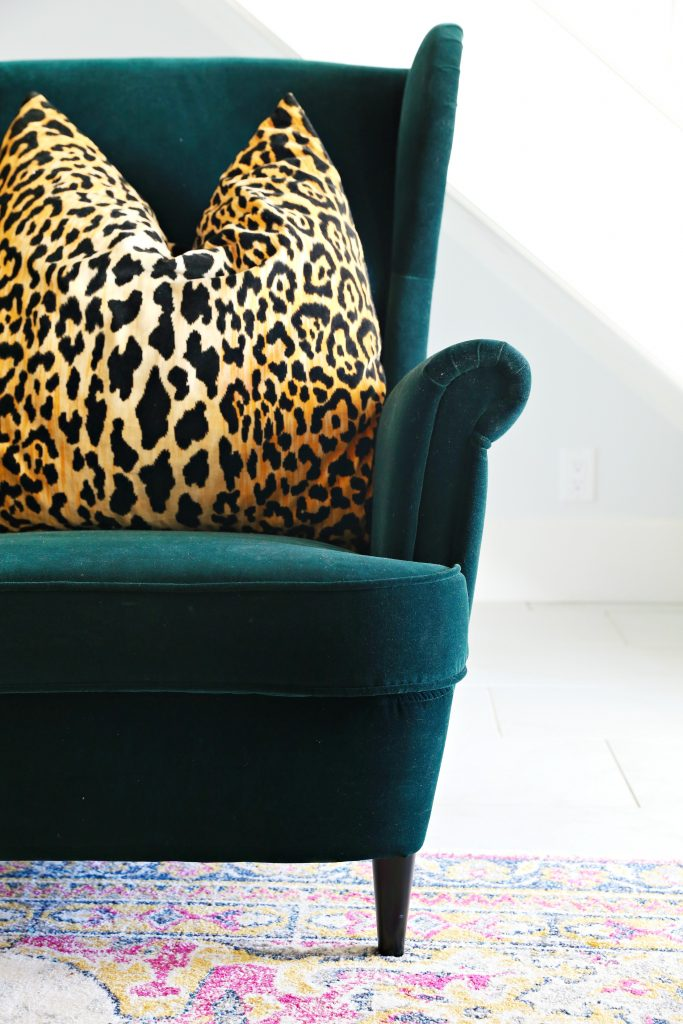 strandmon wing chair review hickory renata stand getting ready for guest and these beautiful living room chairs i fell head over heels in love with this djuparp dark green knew adding a pair of to space would totally