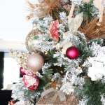 Diy Christmas Tree Savannah S Pink Christmas Tree Classy Clutter