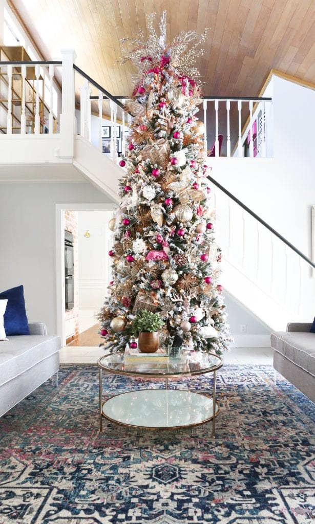DIY Christmas Tree  Savannahs Pink Christmas Tree