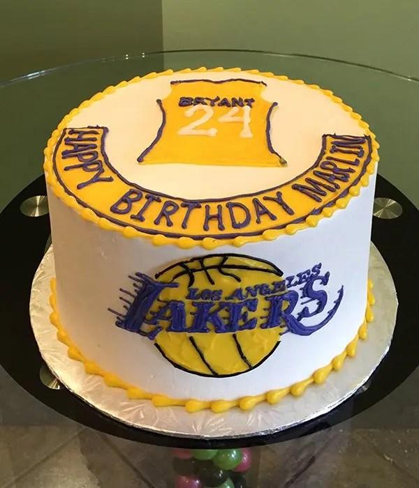 Sports Team Layer Cake  Classy Girl Cupcakes