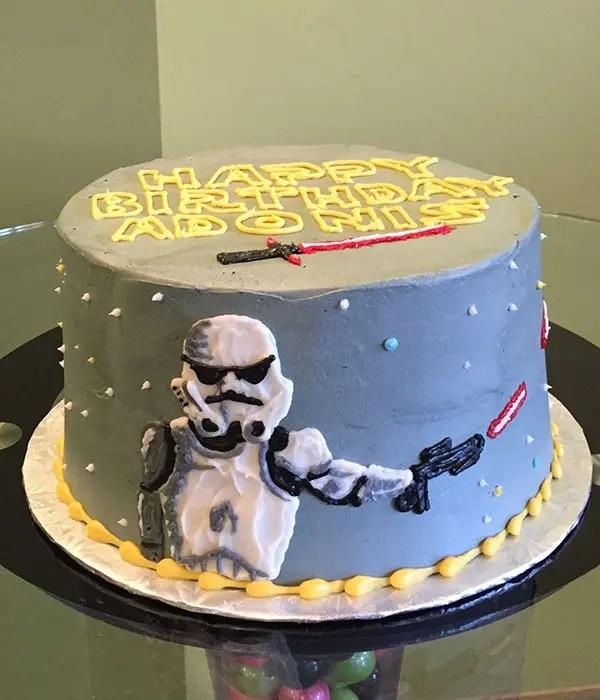 Star Wars Layer Cake  Classy Girl Cupcakes