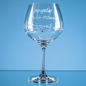 Engraved Gin Glasses