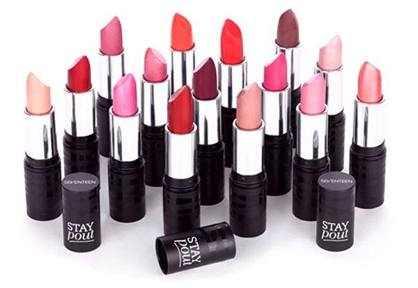 Seventeen Stay Pout Lipstick