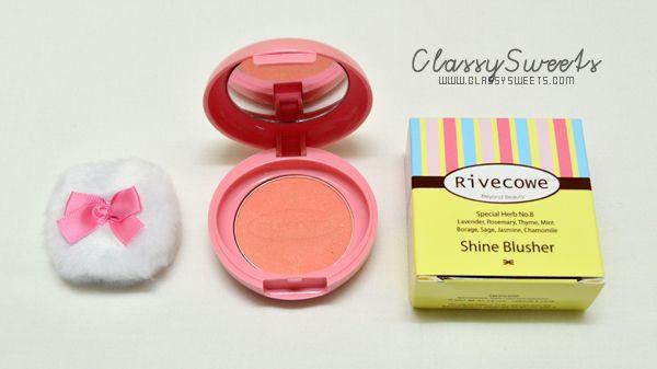 Rivecowe Shine Blusher (Shine Orange)