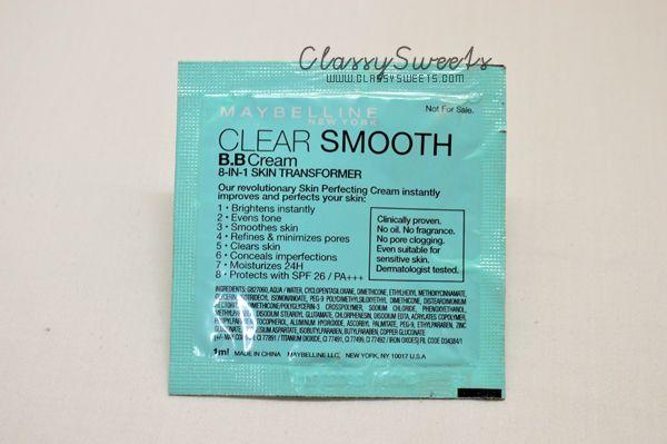 Maybelline Clear Smooth (8-in-1 Skin Transformer) BB Cream