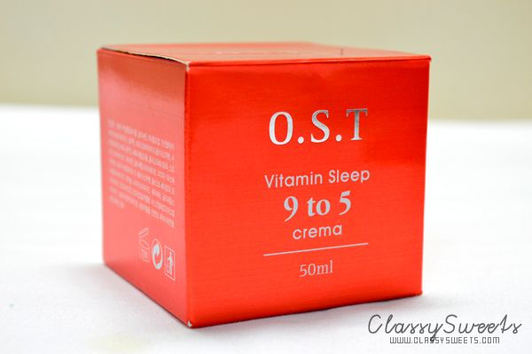 O.S.T Vitamin Sleep 9 to 5 Crema