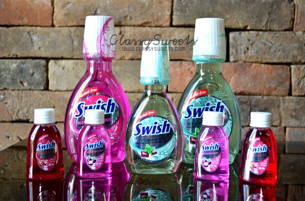 Fresh Breath With Swish Mouthwash