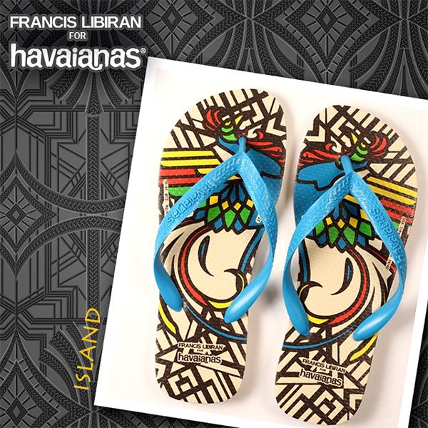 The Limited Edition Francis Libiran Havaianas Collection