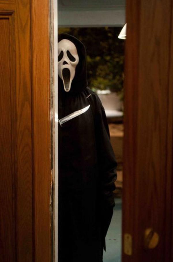 Image result for killer waiting behind door