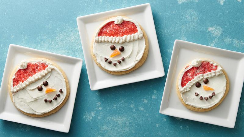 Snowman Cookies Recipe Clattr