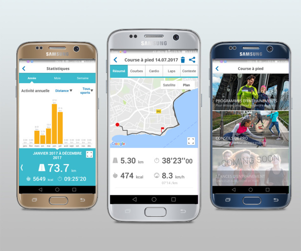 Decathlon Coach l'application running mobile