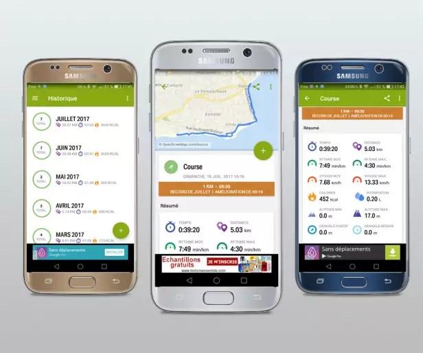 Endomondo l'application running mobile