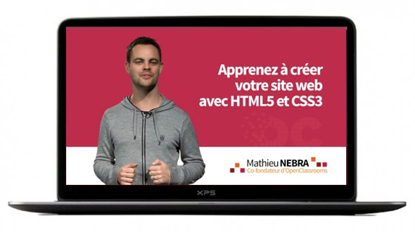Formation OpenClassrooms avec Mathieu Nebra