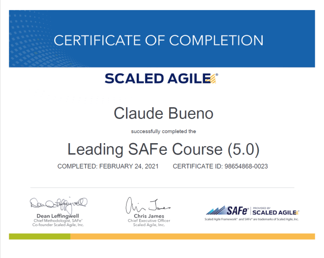 """Je vous livre mes conseils pour vous former efficacement et obtenir la certification """"SAFe® 5 Agilist""""."""
