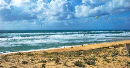 Beau spot de Kite-surf à Messanges