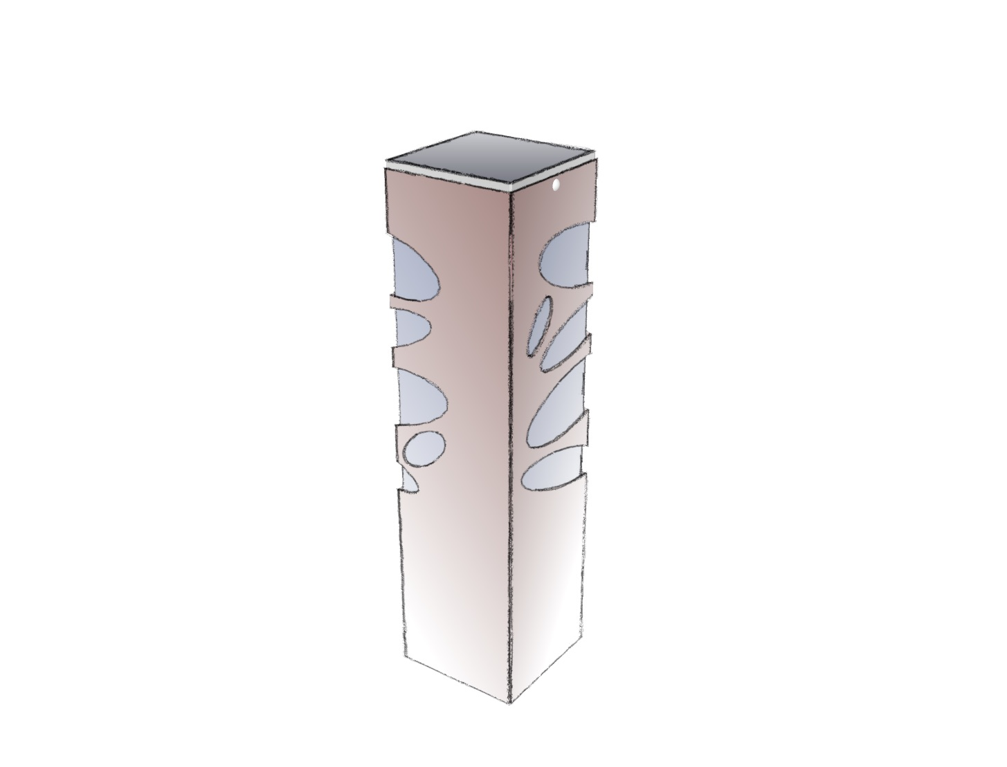 Lampe extérieure solaire avec motifs lumineux galets. La borne solaire BNS 011 se destine au balisage de chemin, au balisage d'allée, à l'éclairage d'entrée, et l'éclairage de jardin. Cette lampe extérieure solaire est une lampe autonome équipée d'un capteur solaire puissant, et diffusant un éclairage performant. Comme tous les luminaires d'extérieur LYX Luminaires, la lampe extérieure solaire BNS 011 est de conception et fabrication française.