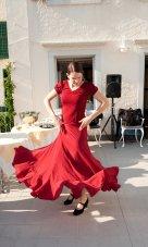 Julia bailando Flamenco