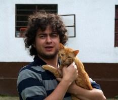 Julian auf der Finca in Kolumbien (Bruder von Claudia)